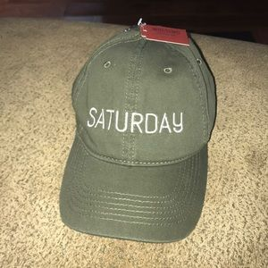 Mossimo Supply Co. 'Saturday' Olive Green Hat